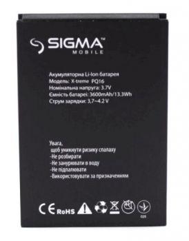 Аккумулятор (батарея) для Sigma X-Treme PQ16 Оригинал