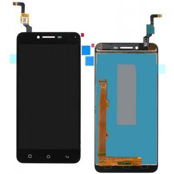 Дисплей (LCD) Lenovo A6020a40 Vibe K5 с сенсором чёрный (желтый шлейф) Оригинал
