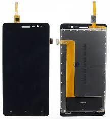 Дисплей (LCD) Lenovo S860 с сенсором чёрный Оригинал