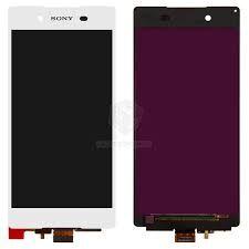 Дисплей (LCD) Sony E6533 Xperia Z3+ DS, E6553, Xperia Z4 с сенсором белый Оригинал