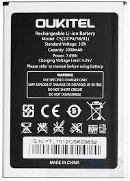 Аккумулятор (батарея) для Oukitel C5 Оригинал