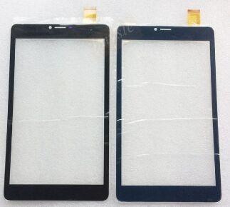 """Сенсор (тачскрин) для Nomi C080014, C080034 Libra 4 8"""" черный Оригинал"""