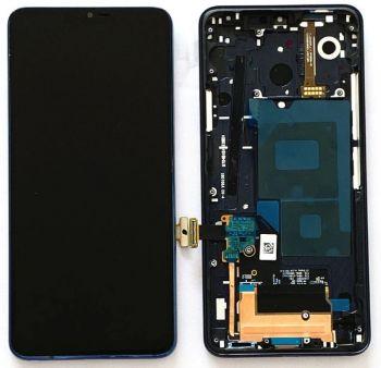 Дисплей LG G7 G710, G710EM ThinQ DS с сенсором (тачскрином) черный с рамкой Оригинал
