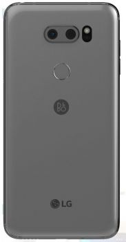 Задняя крышка корпуса LG V30. V30 Plus H930, H930DS, H931, H932, H933, VS996, US998, LS998U серебристая Оригинал