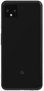 Задняя крышка корпуса Google Pixel 4 XL G020P, G020 черная Оригинал