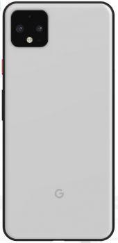 Задняя крышка корпуса Google Pixel 4 XL G020P, G020 белая Оригинал