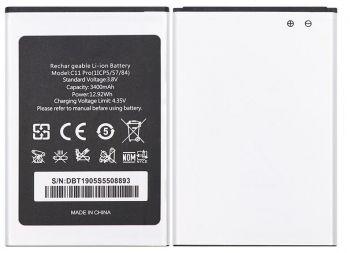 Аккумулятор (батарея) Oukitel C11, C11 Pro 3400mAh Оригинал
