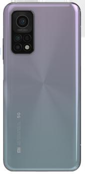Задняя крышка корпуса Xiaomi Mi10T M2007J3SY, Mi10T Pro M2007J3SG голубая Оригинал