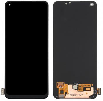 Дисплей Oppo Reno 5 Lite CPH2205, Oppo A94 CPH2203 с сенсором (тачскрином) черный Оригинал