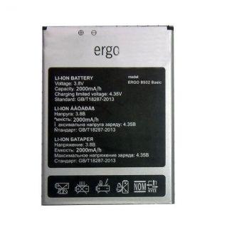 Аккумулятор (батарея) Ergo B502 Basic Dual Sim 2000mAh Оригинал
