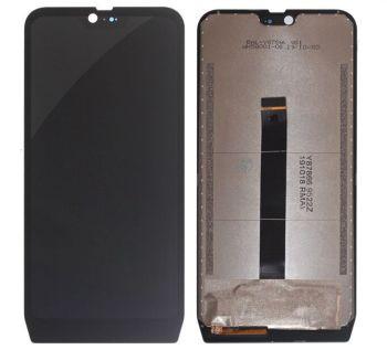 Дисплей Blackview BV9700, BV9700 Pro с сенсором (тачскрином) черный Оригинал