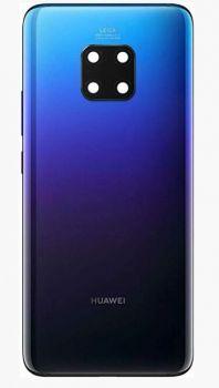 Задняя крышка корпуса Huawei Mate 20 Pro LYA-L09, LYA-L29, LYA-AL00, LYA-AL10, LYA-L0C фиолетовая Оригинал