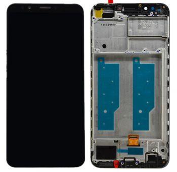 Дисплей Huawei Honor 7C Pro 5,99 LND-L29, LND-AL30, LND-AL40 с сенсором (тачскрином) черный с рамкой Оригинал