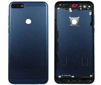 Задняя крышка корпуса Huawei Honor 7C Pro 5,99 LND-L29, LND-AL30, LND-AL40 синяя Оригинал