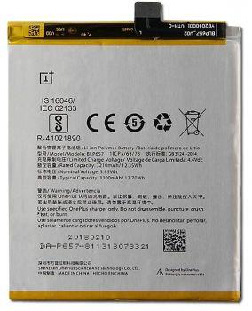 Аккумулятор (батарея) OnePlus 6 A6000, A6003 BLP657 3300mAh Оригинал