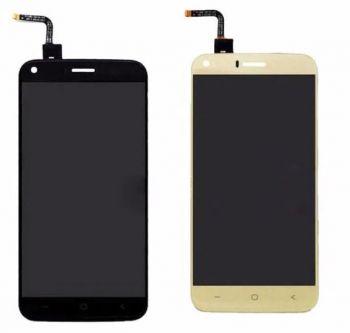 Дисплей (LCD) Bravis A506, Umi London, S-TELL M621 с сенсором золотой Оригинал