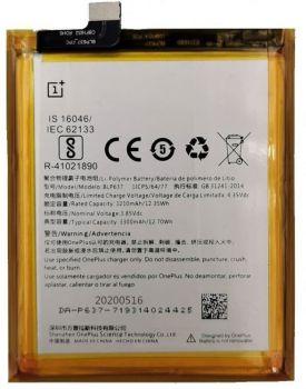 Аккумулятор (батарея) OnePlus 5T A5010 BLP637 3300mAh Оригинал
