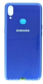 Задняя крышка корпуса Samsung A107 (SM-A107F) Galaxy A10s 2019 синяя Оригинал