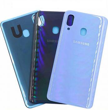 Задняя крышка корпуса Samsung A205 (SM-A205F) Galaxy A20 2019 синяя Оригинал