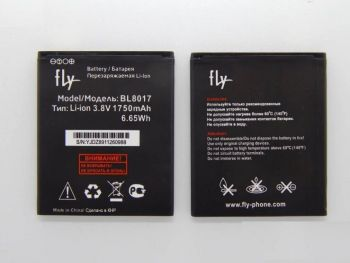 Аккумулятор (батарея) Fly FS458 Stratus 7 BL8017 1750mAh Оригинал
