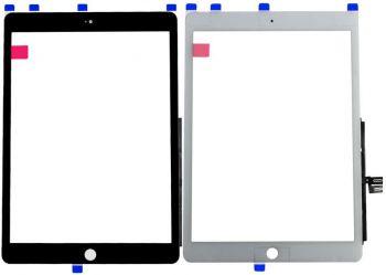 Сенсор (тачскрин) для Apple iPad 10.2 2019 A2232, A2200, A2198 черный Оригинал
