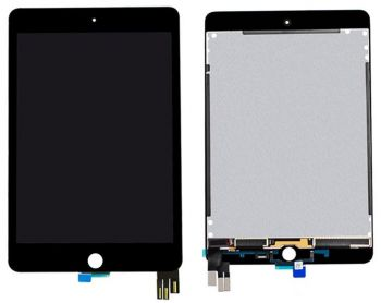 Дисплей Apple iPad mini 5 2019 A2126, A2124, A2133, A2125 с сенсором (тачскрином) черный Оригинал