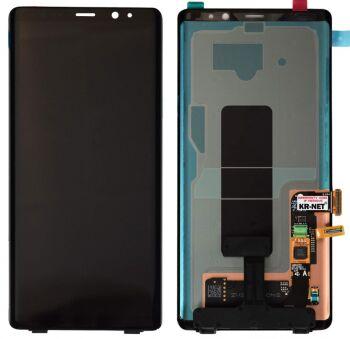 Дисплей Samsung N950 (SM-N950F) Galaxy Note 8 с сенсором (тачскрином) черный OLED
