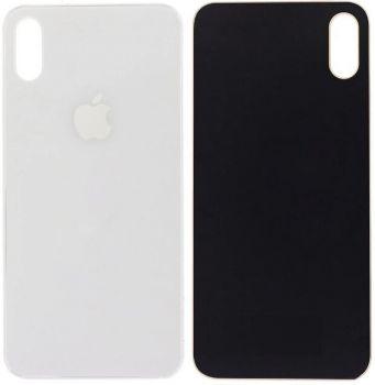 Задняя крышка корпуса Apple iPhone XS A2097, A1920, A2100 серебристая Оригинал