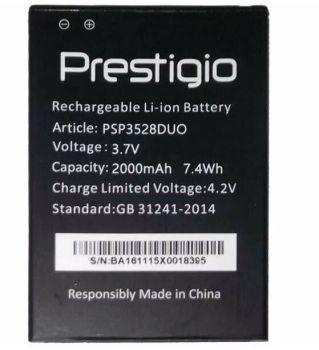 Аккумулятор (батарея) Prestigio PSP3528 Wize PX3 Duo 2000mAh Оригинал