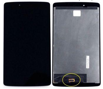 Дисплей LG V480, V490 G Pad 8.0 с сенсором (тачскрином) черный Оригинал