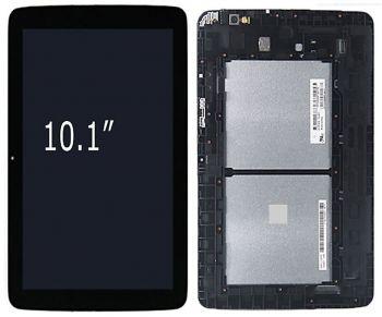 Дисплей LG V700 G Pad 10.1 с сенсором (тачскрином) черный с рамкой Оригинал