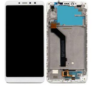 Дисплей Xiaomi Redmi S2, Redmi Y2 с сенсором (тачскрином) белый с рамкой Оригинал