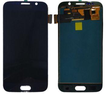 Дисплей Samsung G920 (SM-G920F) Galaxy S6 с сенсором (тачскрином) черный TFT High Сopy