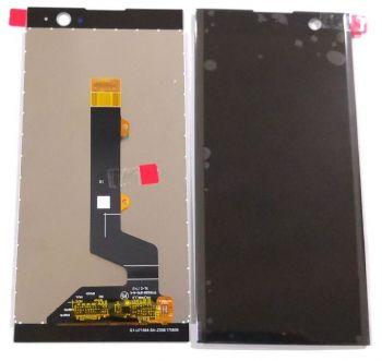 Дисплей Sony H4113, H3113, H4133, H3123, H3133 Xperia XA2 с сенсором (тачскрином) черный Оригинал