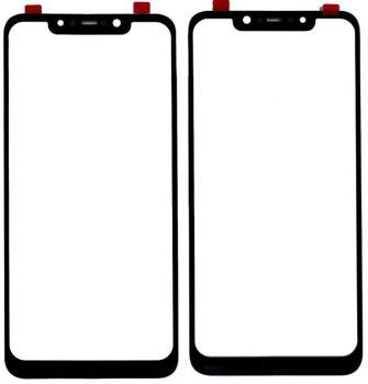 Стекло сенсорного экрана Xiaomi Pocophone F1 черное Оригинал