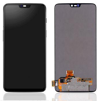 Дисплей OnePlus 6 A6000, A6003 с сенсором (тачскрином) черный TFT High Сopy