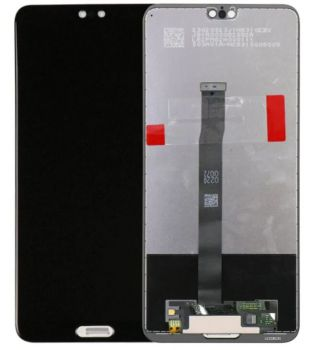 Дисплей Huawei P20 EML-L09, EML-L29 с сенсором (тачскрином) черный Оригинал