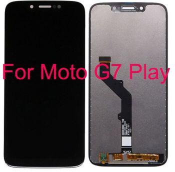 Дисплей Motorola XT1952-1 Moto G7 Play с сенсором (тачскрином) черный Оригинал