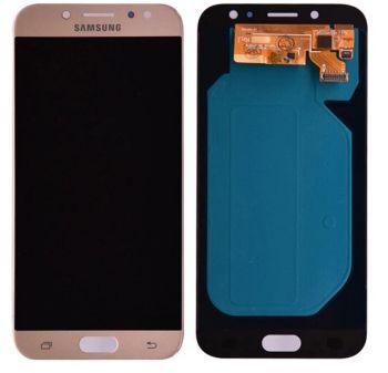 Дисплей Samsung J730 (SM-J730F, SM-J730F/DS) Galaxy J7 2017 с сенсором (тачскрином) золотой Оригинал