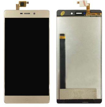 Дисплей Elephone M3 с сенсором (тачскрином) золотой Оригинал