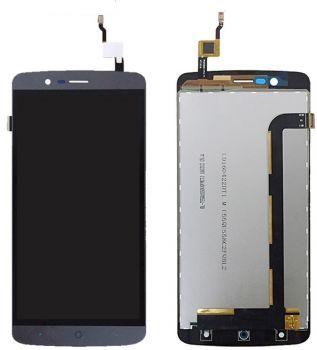 Дисплей Elephone P8000 с сенсором (тачскрином) серый Оригинал