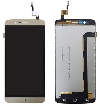 Дисплей Elephone P8000 с сенсором (тачскрином) золотой Оригинал