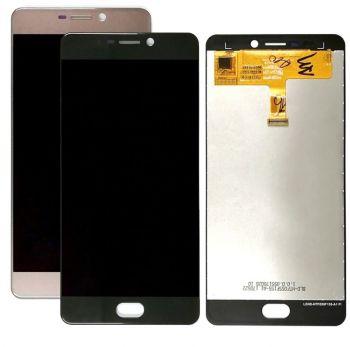 Дисплей Elephone P8 2017 с сенсором (тачскрином) черный Оригинал