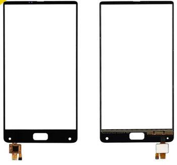 Сенсор (тачскрин) для Elephone S8 черный Оригинал