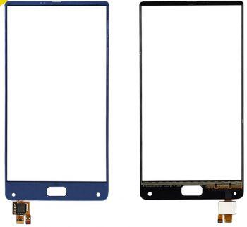 Сенсор (тачскрин) для Elephone S8 синий Оригинал