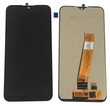 Дисплей Samsung A015 (SM-A015F, SM-A015F/DS) Galaxy A01 с сенсором (тачскрином) черный Оригинал