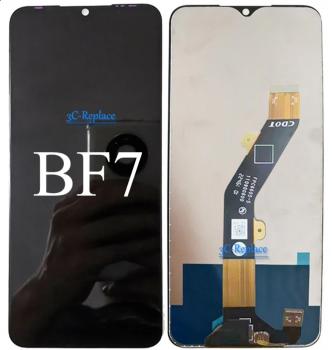 Дисплей Huawei P Smart FIG-LX1, FIG-LA1, FIG-LX2, FIG-LX3 с сенсором (тачскрином) белый с рамкой Оригинал