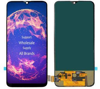 Дисплей OnePlus 6T A6010, A6013 с сенсором (тачскрином) черный TFT High Сopy
