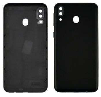Задняя крышка корпуса Samsung M205 (SM-M205F, SM-M205F/DS) Galaxy M20 черная Оригинал