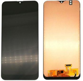 Дисплей Samsung A205 (SM-A205F) Galaxy A20 2019 с сенсором (тачскрином) черный TFT High Сopy